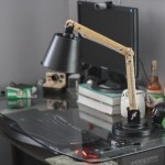 A Tuesday Giveaway | Enter to win a wood + metal desk lamp!
