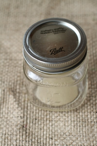 Grove candle jar