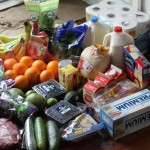 What I Spent, What We Ate | In January, I spent all the grocery dollars.