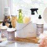Today's the last day to get your Mrs. Meyer's cleaning set!