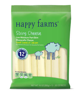 frugal and filling snack string cheese