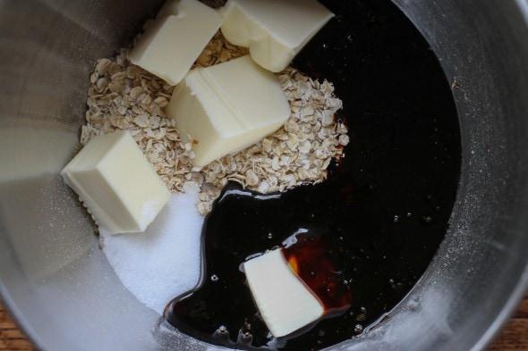 molasses and oats