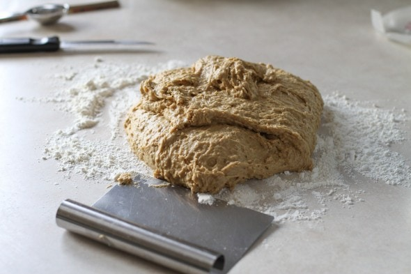oatmeal bread dough