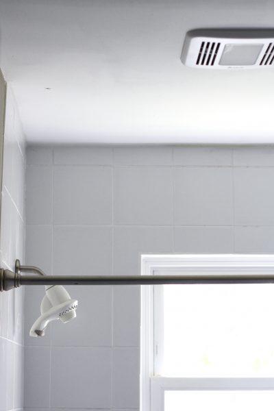 LED bathroom fan light