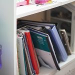 Where do we store homeschool supplies? And how do homeschoolers turn in work?