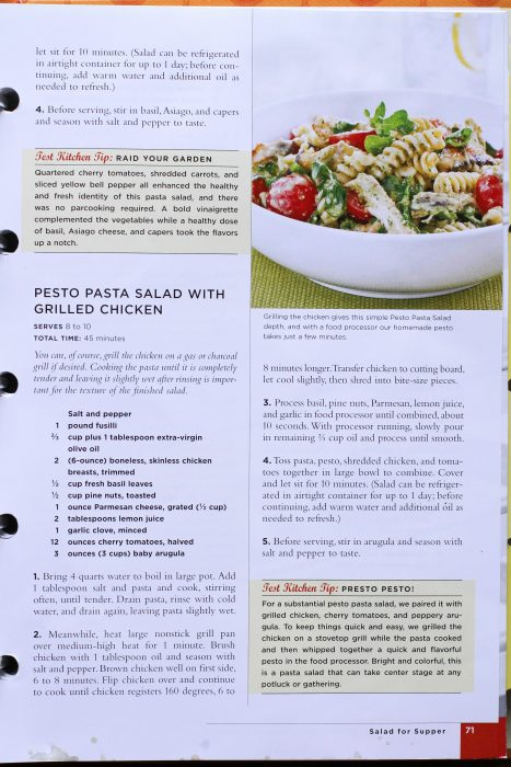 52 New Recipes Grilled Chicken Pesto Pasta Salad The Frugal Girl