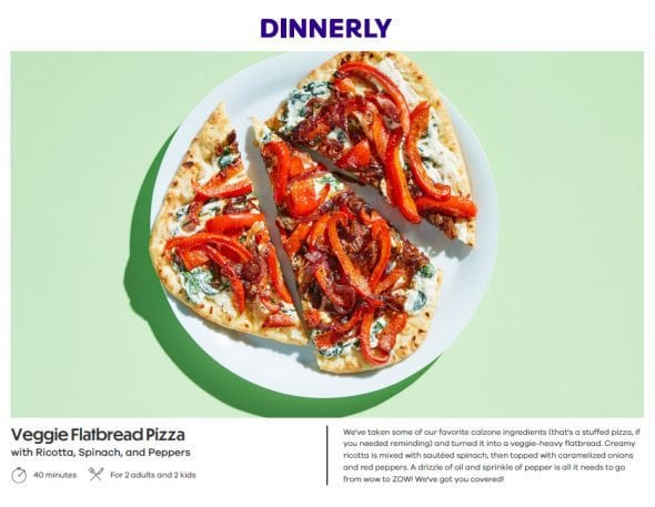 An honest review of dinnerly the frugal girl each recipe has step by step instructions with six steps or less forumfinder Image collections
