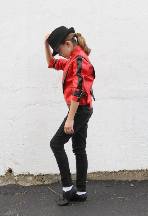 Zoe Michael Jackson costume