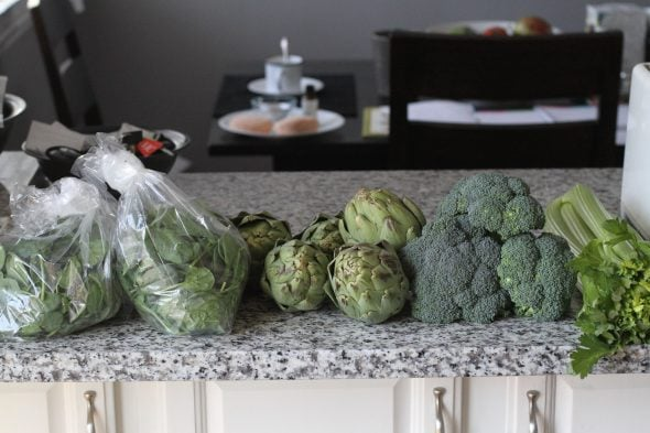 Hungry Harvest green veggies