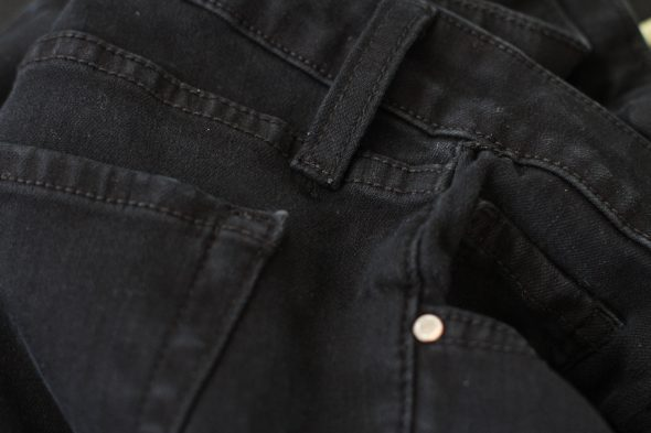 how to fix belt loop jeans
