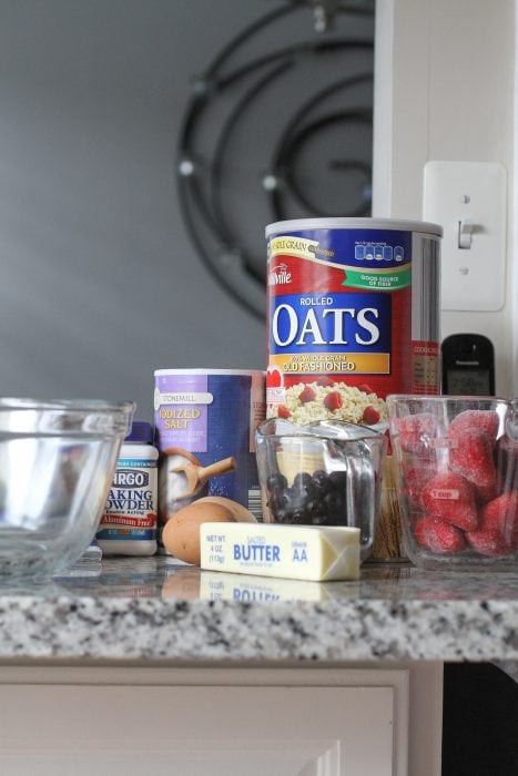 fruity baked oatmeal ingredients
