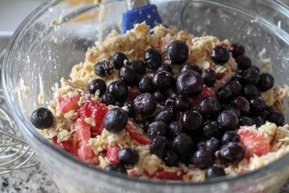 fruity baked oatmeal