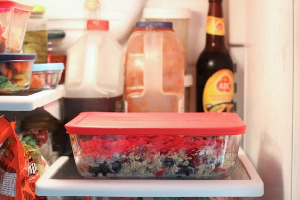 refrigerated overnight baked oatmeal