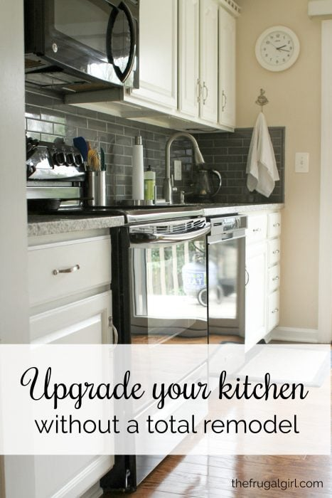 All about my new counters and backsplash - The Frugal Girl