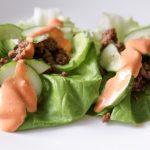Korean Sizzling Beef Lettuce Wraps