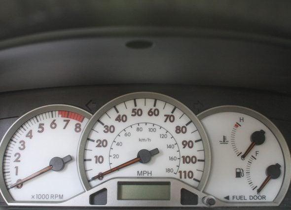 Corolla dashboard cluster