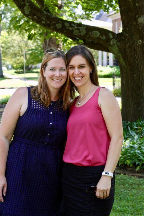 Kristen and her friend.
