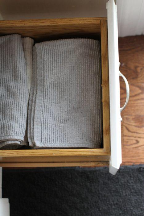 Hvordan man holder håndklæder og dugeklude sanitære
