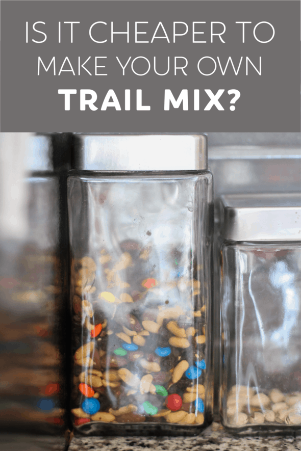 Is it cheaper to make your own trail mix?