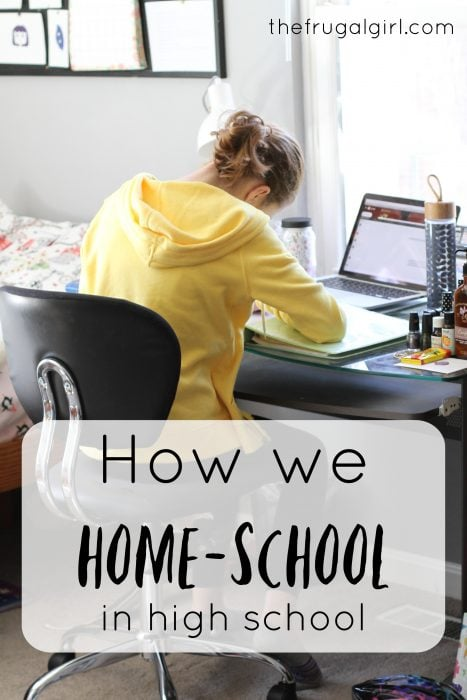 How to home-school through high school