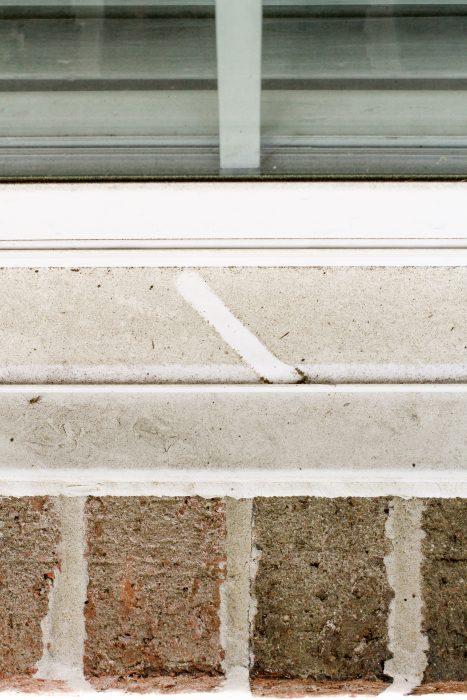 dirty windowsill