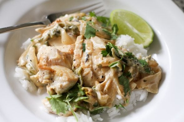 chicken with poblanos cooks country