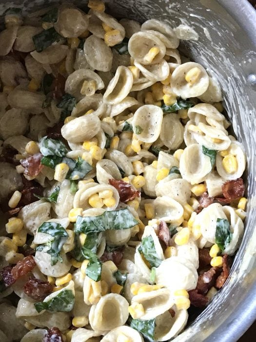 corn bacon pasta cook's country