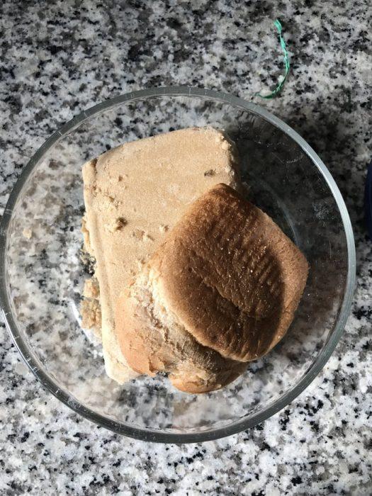 blødgør brunt sukker med breadac