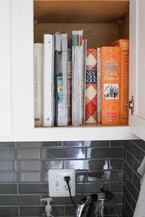 lemari buku masak