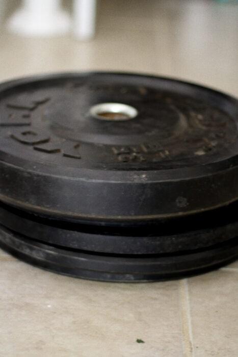 York fitness bumper plates