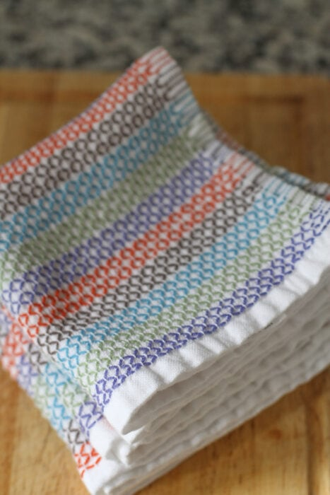 Mighty Fix organic cotton dishcloths