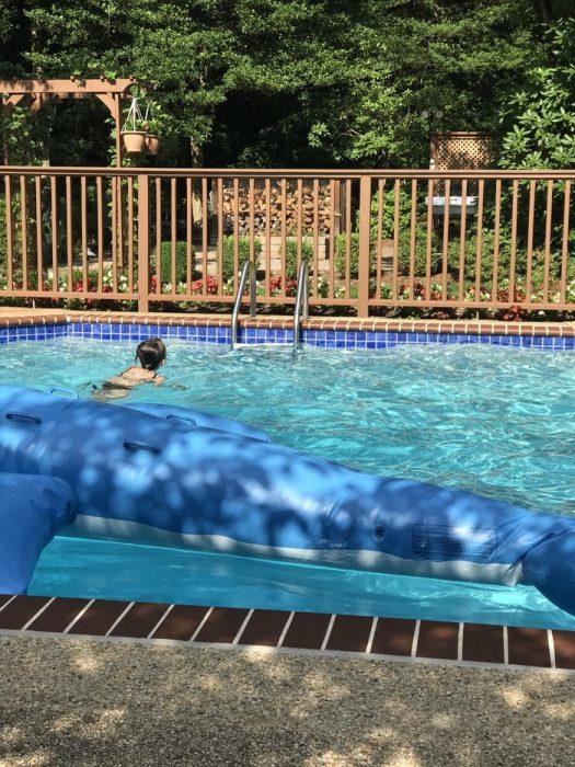 Zoe swimming pool
