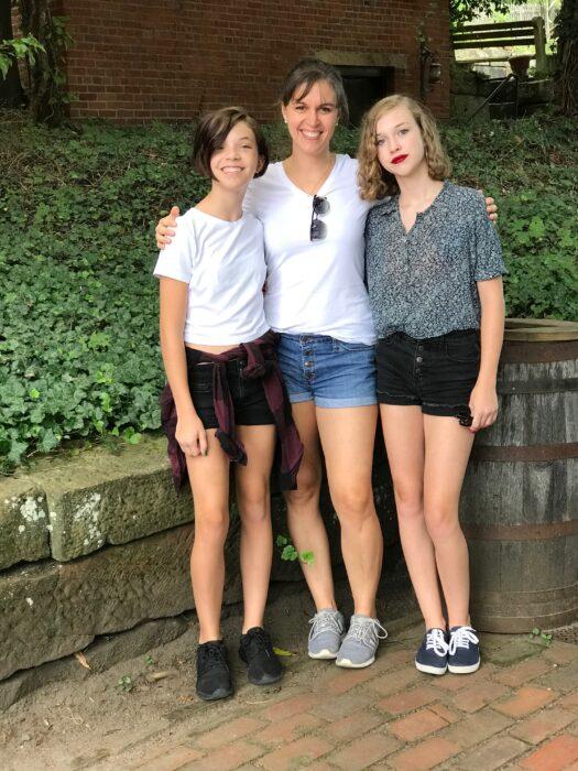 Kristen, Sonia, and Zoe
