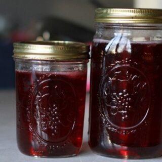 homemade grape jelly