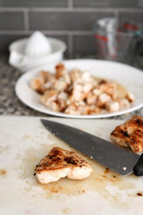 brineraded chicken