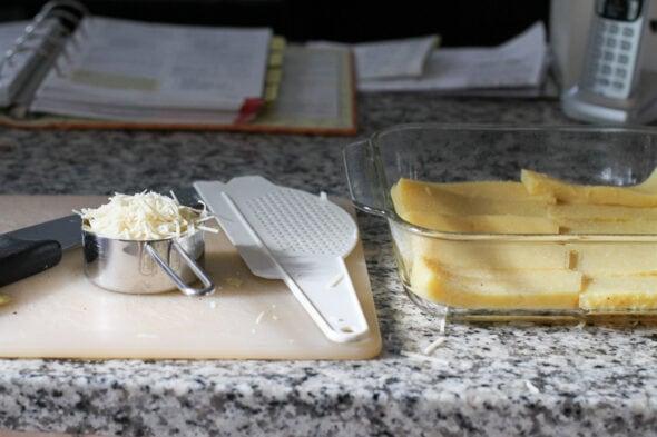 baked polenta