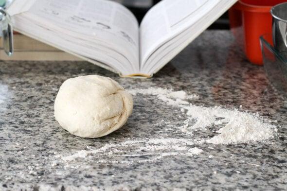 cream biscuit dough