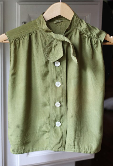 repaired vintage shirt