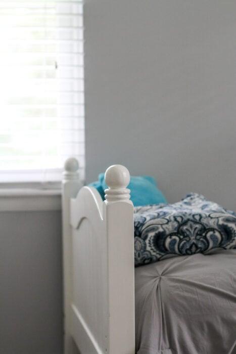 Behr silver bullet girl's room