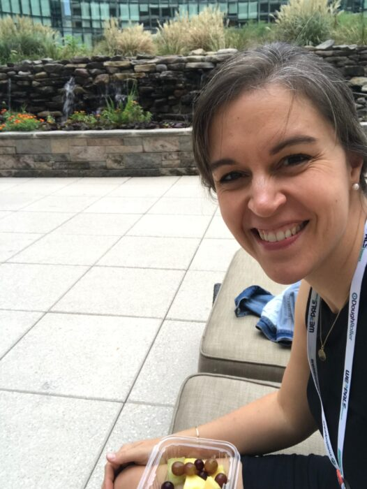Kristen at FinCon19