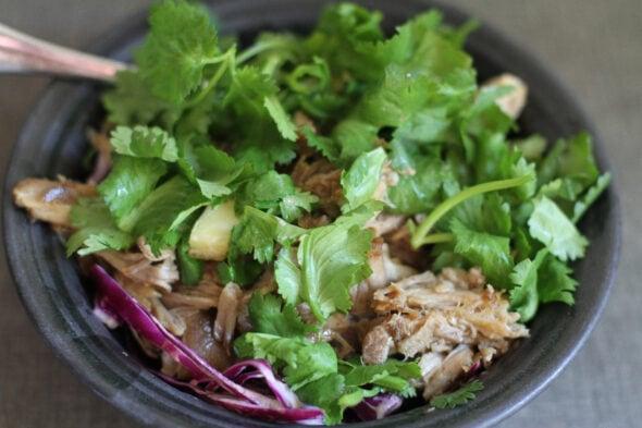 pork and veggie bowl