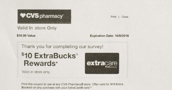 CVS $10 survey