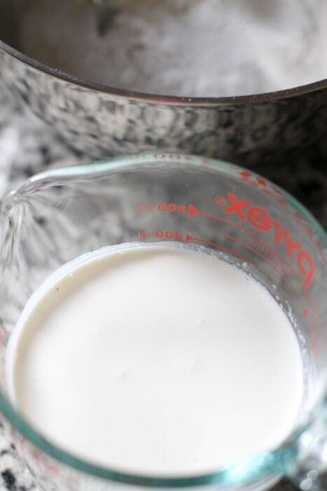 creme de leite para biscoitos