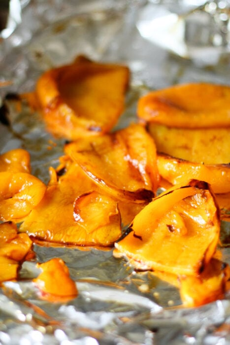 roasted yellow peppers
