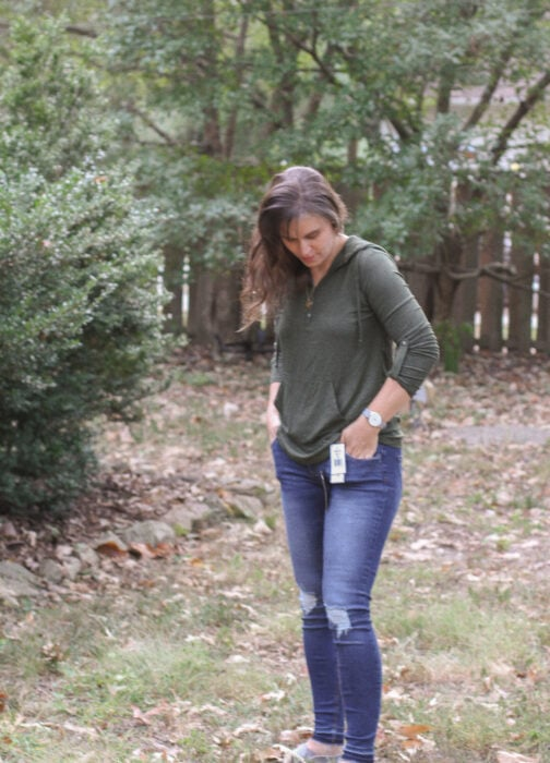 Stitch Fix fall 2019 green pullover