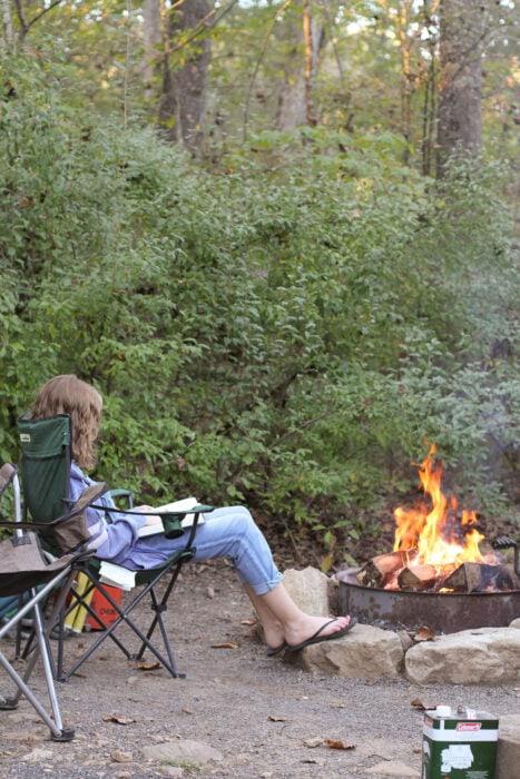 Sonia campfire