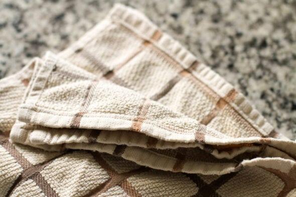 kitchen towel mending