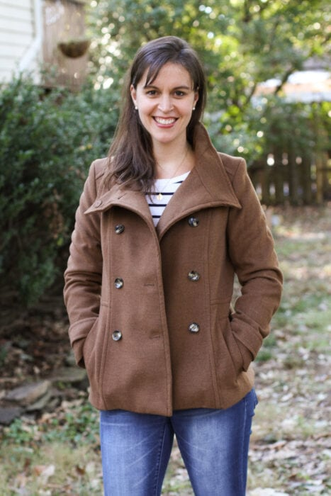 clearance coat Kristen