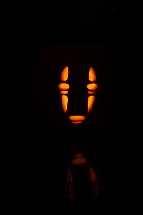 no face pumpkin