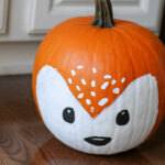 Lisey's painted pumpkin